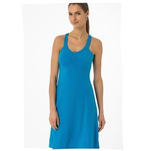 Prana shauna blue dress